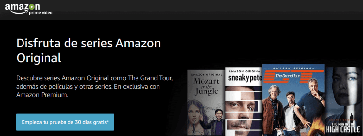 amazon prime video mes gratis