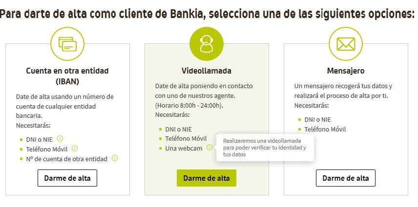 banco sin comisiones en 3 pasos