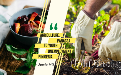 Agriculture panacea to youth unemployment.