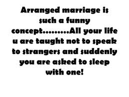 Essay on arranged marriages