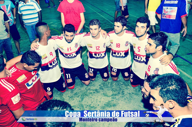 VIP_9218 Monteirense é campeão da Copa Sertânia de Futsal