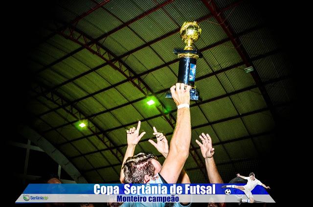VIP_9285 Monteirense é campeão da Copa Sertânia de Futsal