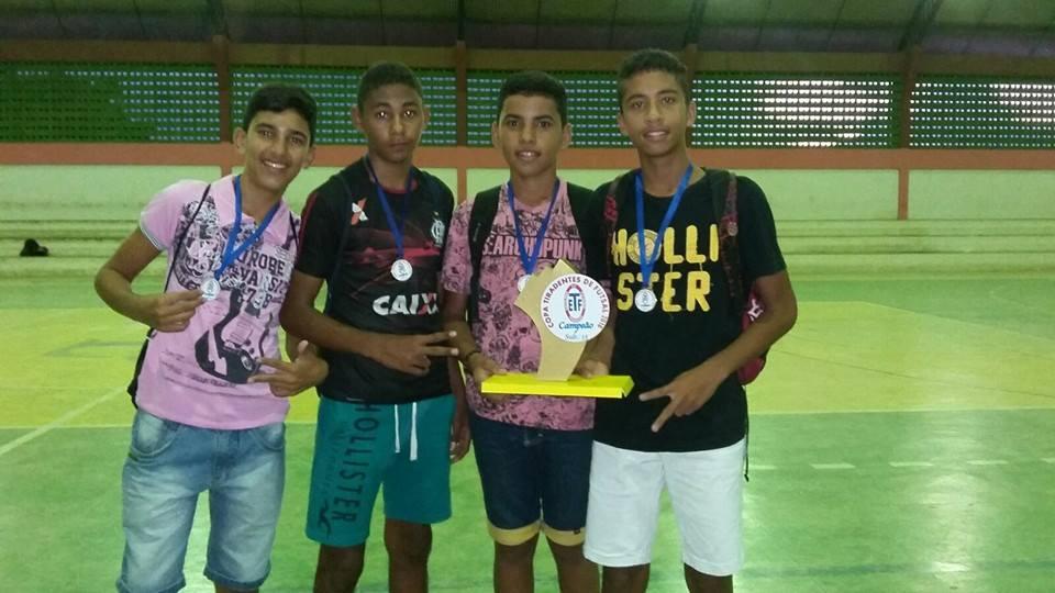 12687855_1154106544629916_9169600943632031308_n Tiradentes é Campeão da 1ªTaça Tiradentes de Futsal