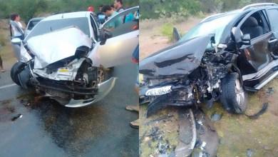 Colisão entre dois carros deixa homem gravemente ferido entre Sumé e Congo 4