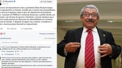 Maranhão sinaliza voto pró-impeachment e é hostilizado nas redes sociais 5
