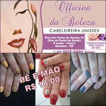13165863_1129959083691567_4405959307952249_n Grande promoção na Officina da Beleza em Monteiro;Confira