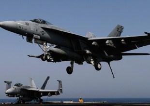 Dois caças da marinha americana caem no mar na Carolina do Norte 2