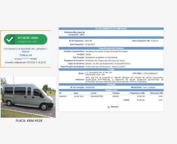 13522446_10207101686563687_772698431_n Vereador denuncia locação de carro fantasma em livramento