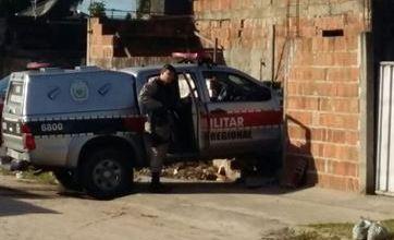 Viatura da PM bate em muro durante perseguição a suspeitos na Grande João Pessoa 3