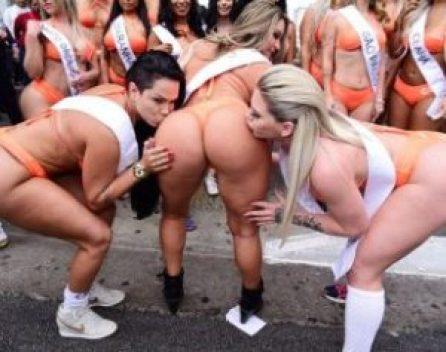 144664-700x487-310x245-300x237 Abusadas: Candidatas a Miss Bumbum causam alvoroço na Av. Paulista