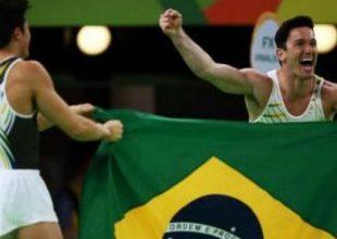 Redenção: após cair de cara em Londres, Diego é Prata no Rio 5