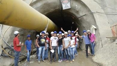 IFPB Monteiro: Alunos de Construção de Edifícios fazem visita técnica a Transposição 6