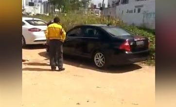 Motorista do Uber é multado e tem carro apreendido ao atender cliente, em João Pessoa 3