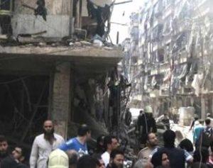 hospitalsiria-310x245-300x237 Ataques aéreos intensos atingem áreas tomadas por rebeldes na Síria