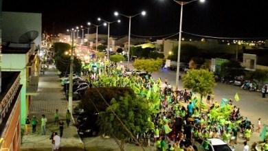 Coligação O Trabalho Continua realiza carreata e comício em Monteiro 6