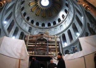 Tumba onde Jesus foi sepultado é aberta pela primeira vez em séculos 7