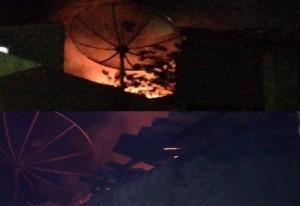 Casa no centro de Serra Branca fica em chamas e por pouco não causa incêndio de grandes proporções 6