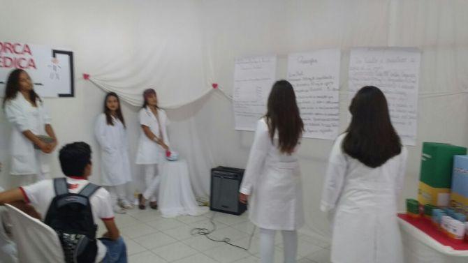 """6f37453c-1cd1-4c71-a175-5ccab30f3c6b-1 Escola I.E.J.P.N  Realiza Projeto """"""""Feira de Leitura e Escrita"""" em Monteiro"""