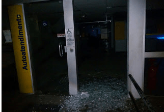 Bandidos tentam explodir caixas eletrônicos do Banco do Brasil em Sertania -PE 5