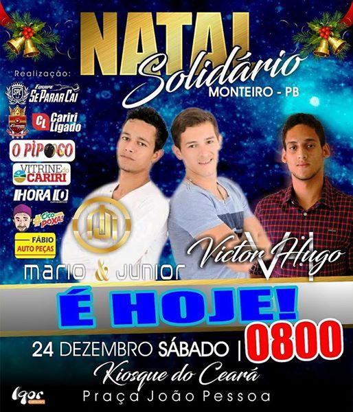 15698322_1175382369243783_8978087964655271449_n É HOJE!! na Praça João Pessoa Natal do Povo