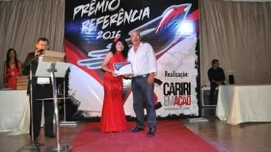 Prefeita Edna Henrique recebe PREMIO REFERENCIA por aprovação no Cariri 4