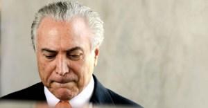 Temer é notificado sobre denúncia da PGR por corrupção passiva 2