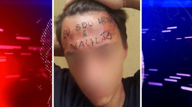 Tatuador é preso por tortura na testa de adolescente o vídeo teve maior repercussão nas redes sócias. 1