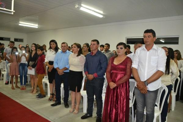 Formatura_Projovem Prefeita Anna Lorena prestigia formatura do programa Projovem Campo Saberes da Terra