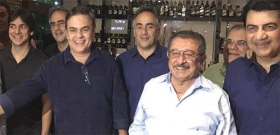 opos Cássio reforça união das oposições e diz que ainda espera contar com a presença de Maranhão na aliança