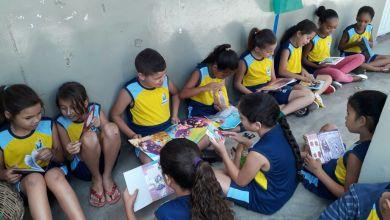 Escola Brisa Nunes Brás recebe o Cantinho da Leitura para crianças do pré ao 5º ano 8