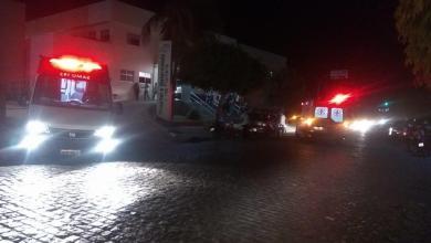 Quatro pessoas ficam feridas em acidente entre carro e motos em Monteiro. 2