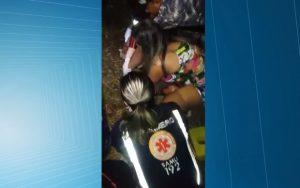 atropelamento-enfermeira-620x388-300x188 Enfermeira do Samu que atendia vítimas de acidente é atropelada durante socorro, na Paraíba