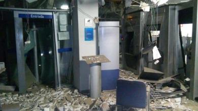 Agência da Caixa Econômica Federal é alvo de bandidos, em Sertânia 8