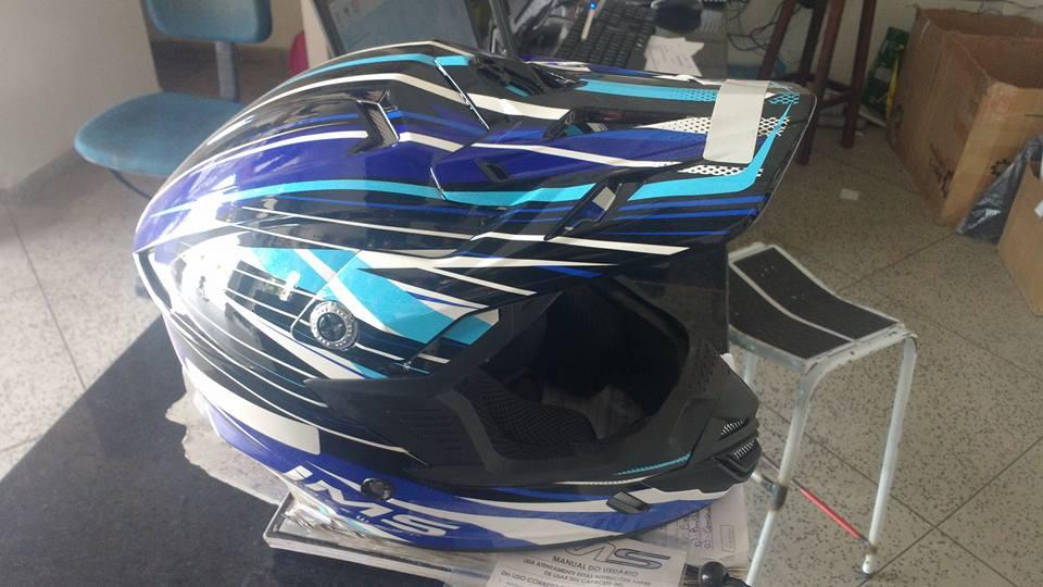 capacete Promoção na Vasconcelos Moto Peças e Retífica, em Monteiro