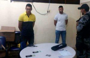 presos-300x192 Sertaniense é pego com gabarito das provas do concurso da Polícia Militar do Maranhão