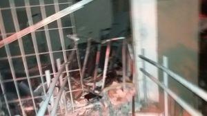 Criminosos interrompem velório e explodem banco em Prefeitura 2