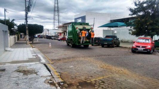 Coleta_Infra_ Secretário de Infraestrutura anuncia mudanças na coleta de lixo em Monteiro