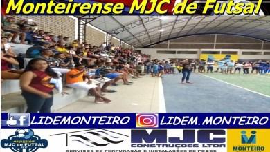 Em jogos emocionantes, Net Mais e Rumaníacos vencem e fazem sexta-feira a Grande Final do Monteirense MJC de Futsal. 2