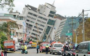 rua-1-300x188 Sobe número de mortos por tremores em Taiwan