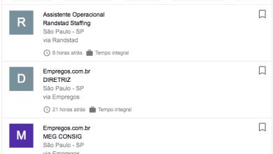 Google lança busca de empregos no Brasil. 6