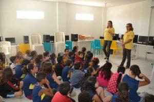 """Prefeitura de Monteiro lança nas escolas o projeto """"Lixo Nosso de Cada Dia"""" 2"""