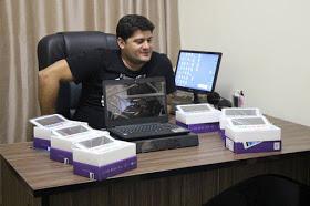 Zabelê: Prefeito Dalyson Neves entrega notebooks e Tablets aos alunos da Escola Maria Bezerra da Silva. 9