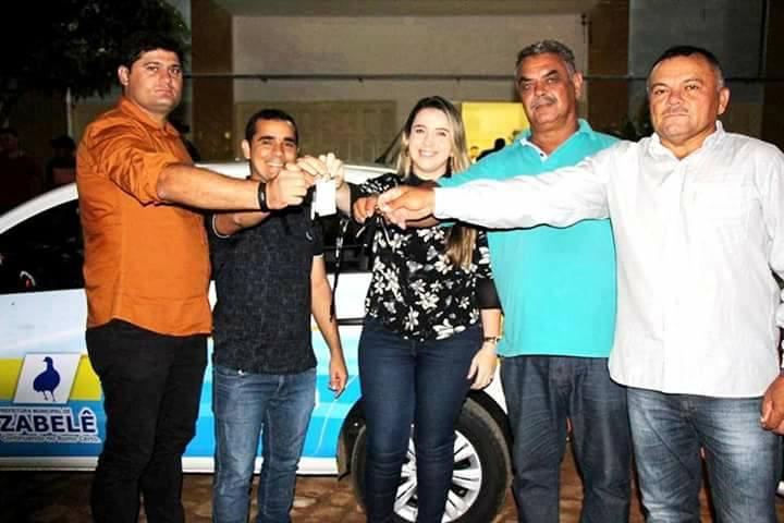 zabele-pb O Prefeito Dalyson Neves junto com o vice-prefeito Zé Cláudio, realizam entrega de dois veículos à Secretaria Municipal de Saúde.