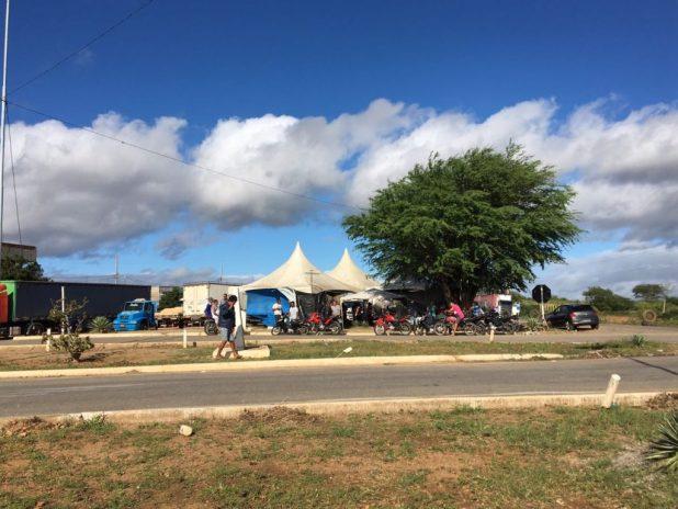 IMG-20180530-WA0097-1024x768 Em Monteiro: Caminhoneiros entram no 10º dia de paralisação contra alta de combustível