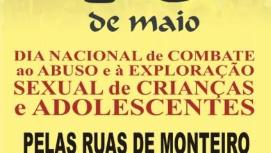 Grande passeata em Monteiro amanhã contra a exploração e abuso sexual de crianças e adolescentes 3