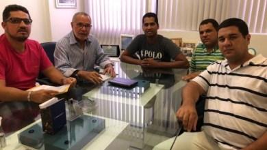 Batinga recebe apoio da diretoria do Sindicato dos Vigilantes da Paraíba 3