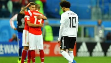 Salah marca, mas Egito perde para Rússia e se complica na Copa 3