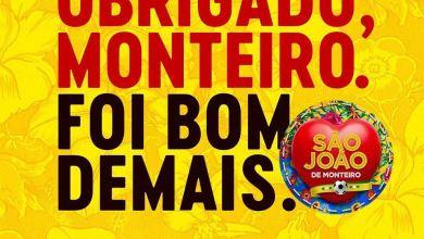 Prefeita Ana Lorena agradece pelo sucesso do São João de Monteiro 2
