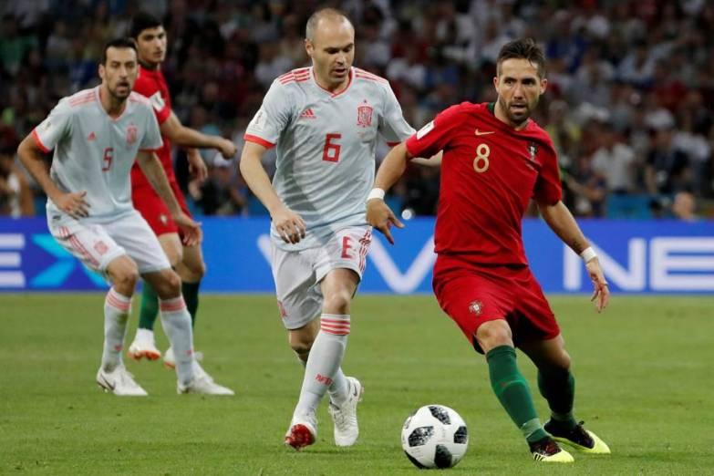 esporte-futebol-portugal-20180615-0007 CR7 3 x 3 Espanha: Cristiano se veste de 'melhor da história'