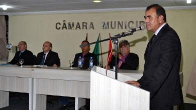 Vice prefeito Celecileno Alves leva mensagem do executivo à câmara no retorno do recesso 1